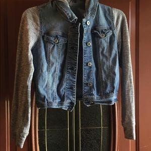 Girls jean hoodie